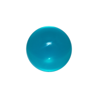 Coloured acrylic contact ball
