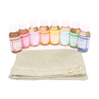 Liquid Soaps 8 x 59ml - Dr. Bronner's Magic Soaps